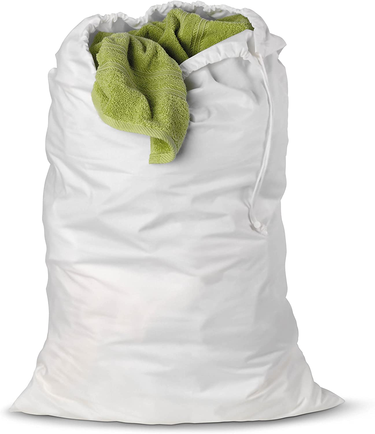 Honey-Can-Do LBG-01140 Cotton Laundry Bag, White