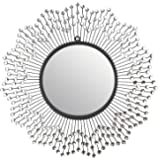 "Lulu Decor, Celebration Wall Mirror, Decorative Mirror, Frame Size 24"", Perfect for Housewarming Gift (Mirror)"