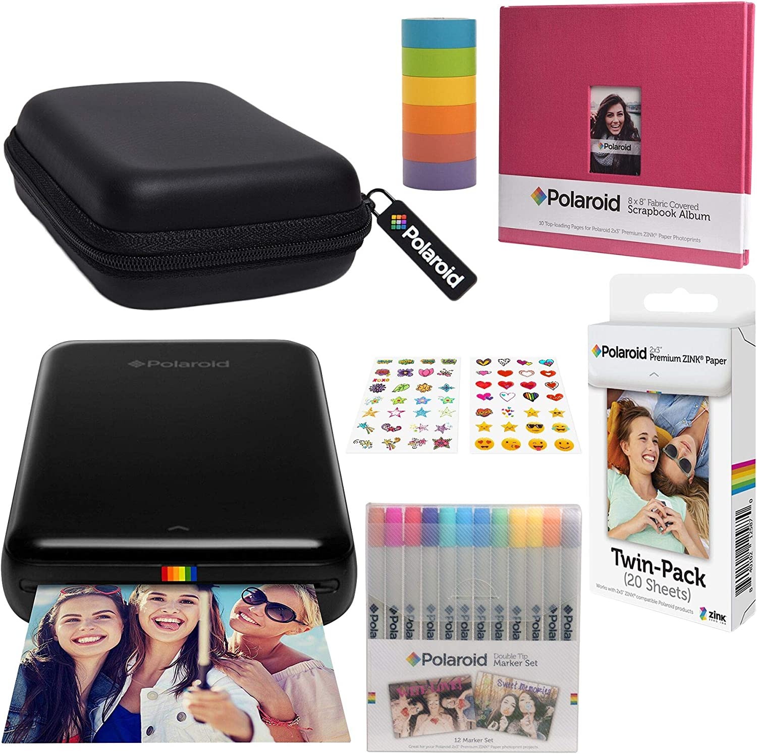 Amazon.com: Polaroid Zip - Kit de álbumes de recortes con ...