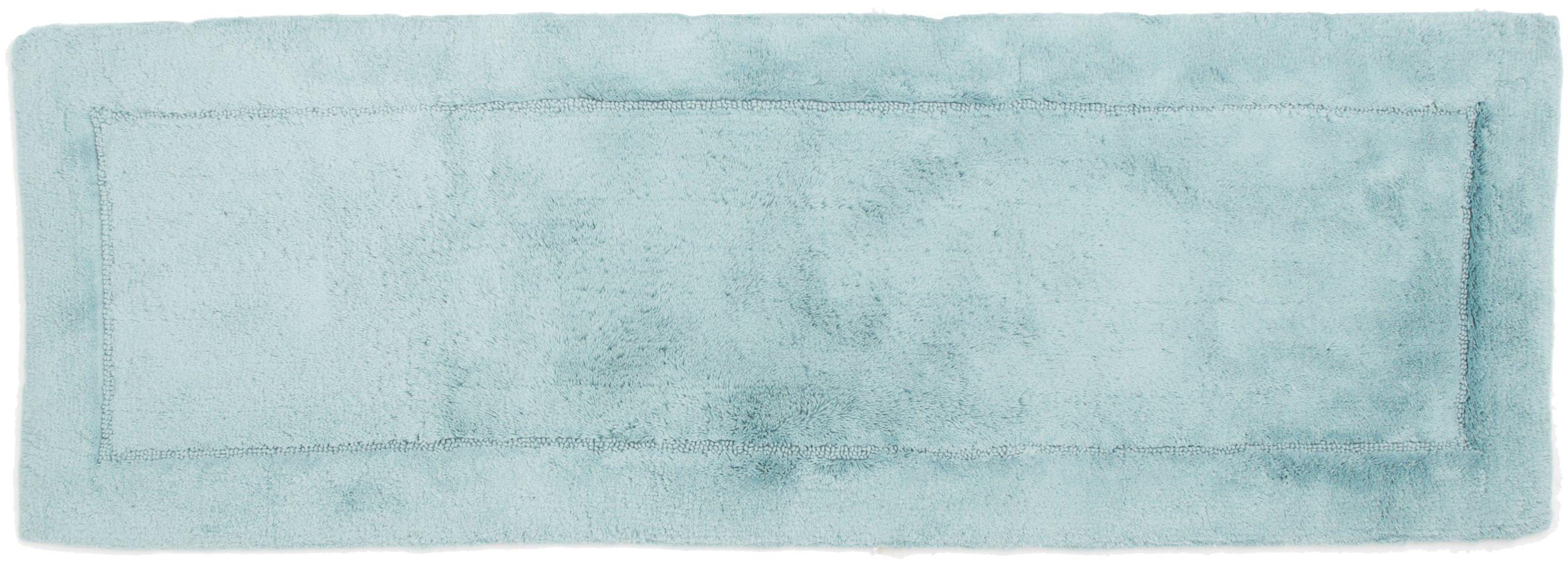 HygroSoft Fast Drying and Absorbent Bath Rug, 21 by 60-Inch, Glacier