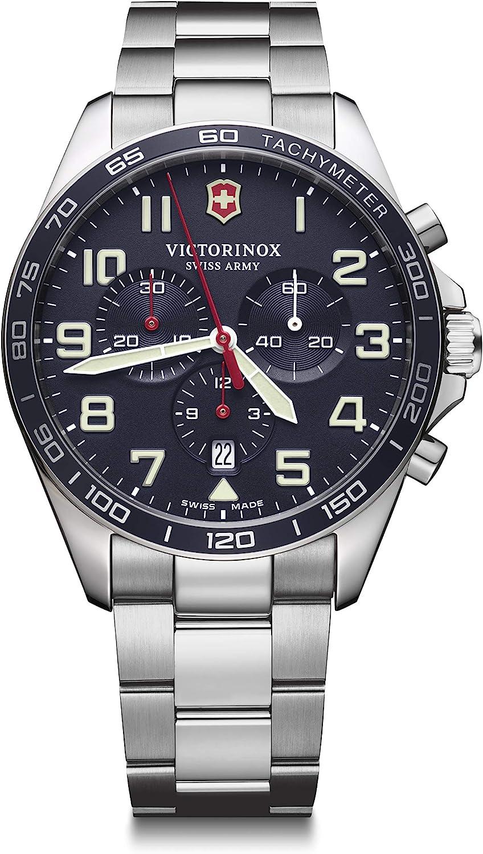 Victorinox fieldforce cronografo acciaio inossidabile 241857