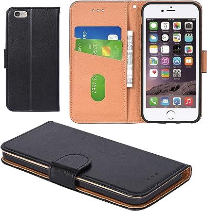 iPhone 6 Case, iPhone 6S Case, Aicoco Flip Cover Leather, Phone ...