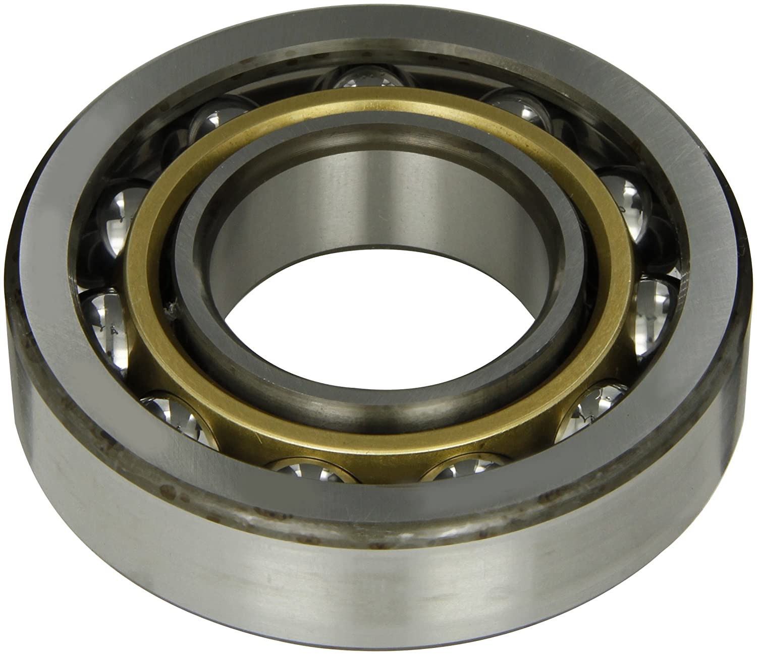 50mm Bore 11500lbf Static Load Capacity 27mm Width Normal Clearance 40/° Contact Angle 16700lbf Dynamic Load Capacity 110mm OD Open SKF 7310 BECBM Medium Series Angular Contact Bearing ABEC 1 Precision Brass Cage