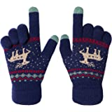 Womens Touch Screen Gloves, Winter Thermal Ladies Gloves for Smartphones