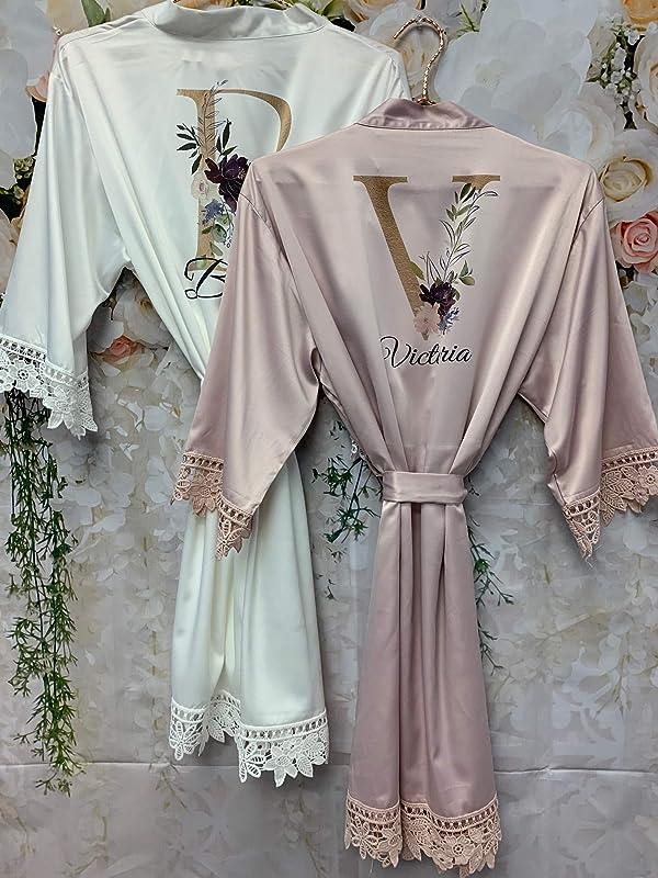 Custom Text Satin Ruffle Keyhole Romper Womens Personalized Bachelorette Getting Ready Satin Romper Bridesmaids Gift Custom Wedding Present