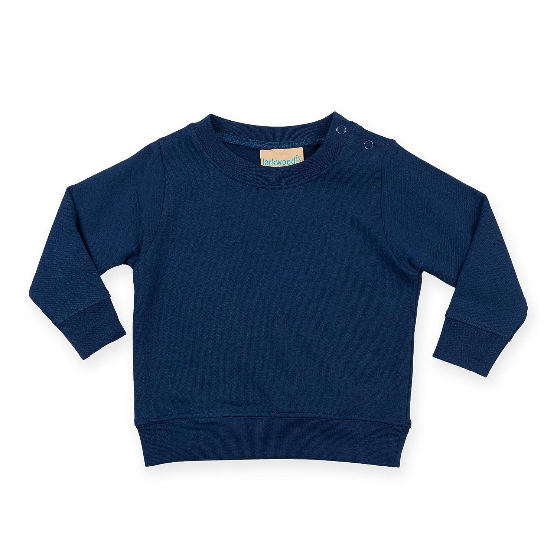Infant's Larkwood Crew Neck Sweatshirt Shoulder Poppers