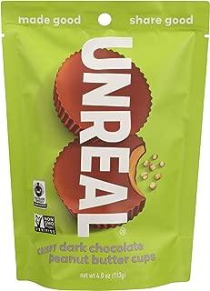 product image for UNREAL Gluten-Free, Vegan, Non-GMO Dark Chocolate Crispy Peanut Butter Cups - 1 Bag