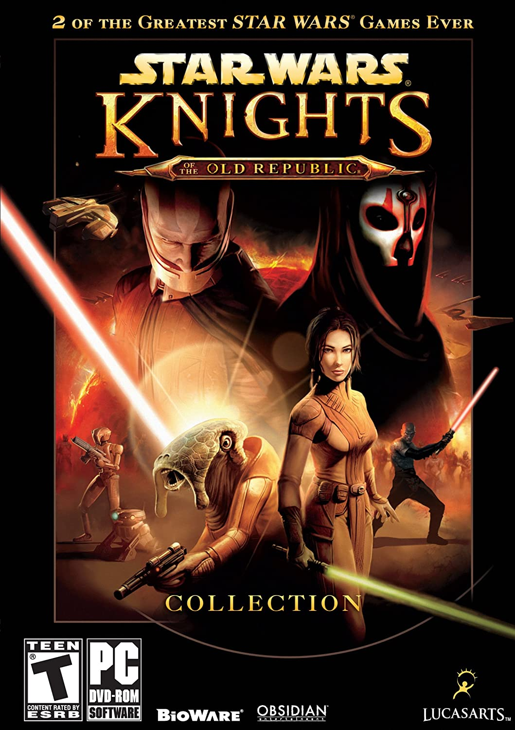 Star Wars: Knights of the Old Republic collection cover art.