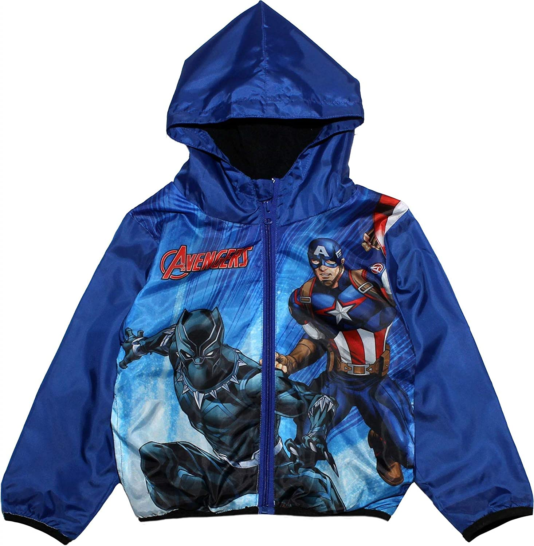 Kids Boy Avenger Zipper Jackets Coat Thin Hoodie Sweatshirt Pullover Top