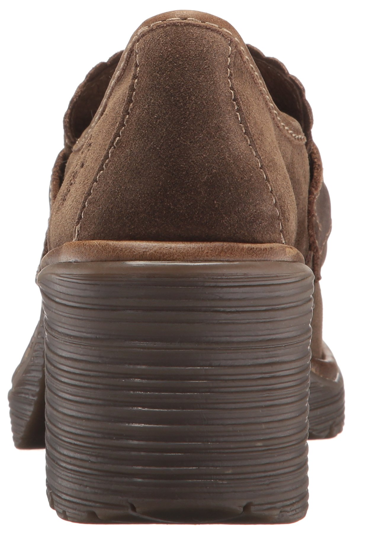 FLY London Women's WEND764FLY Penny Loafer, Sludge/Olive Oil Suede/Rug, 39 M EU (8-8.5 US) by FLY London (Image #2)