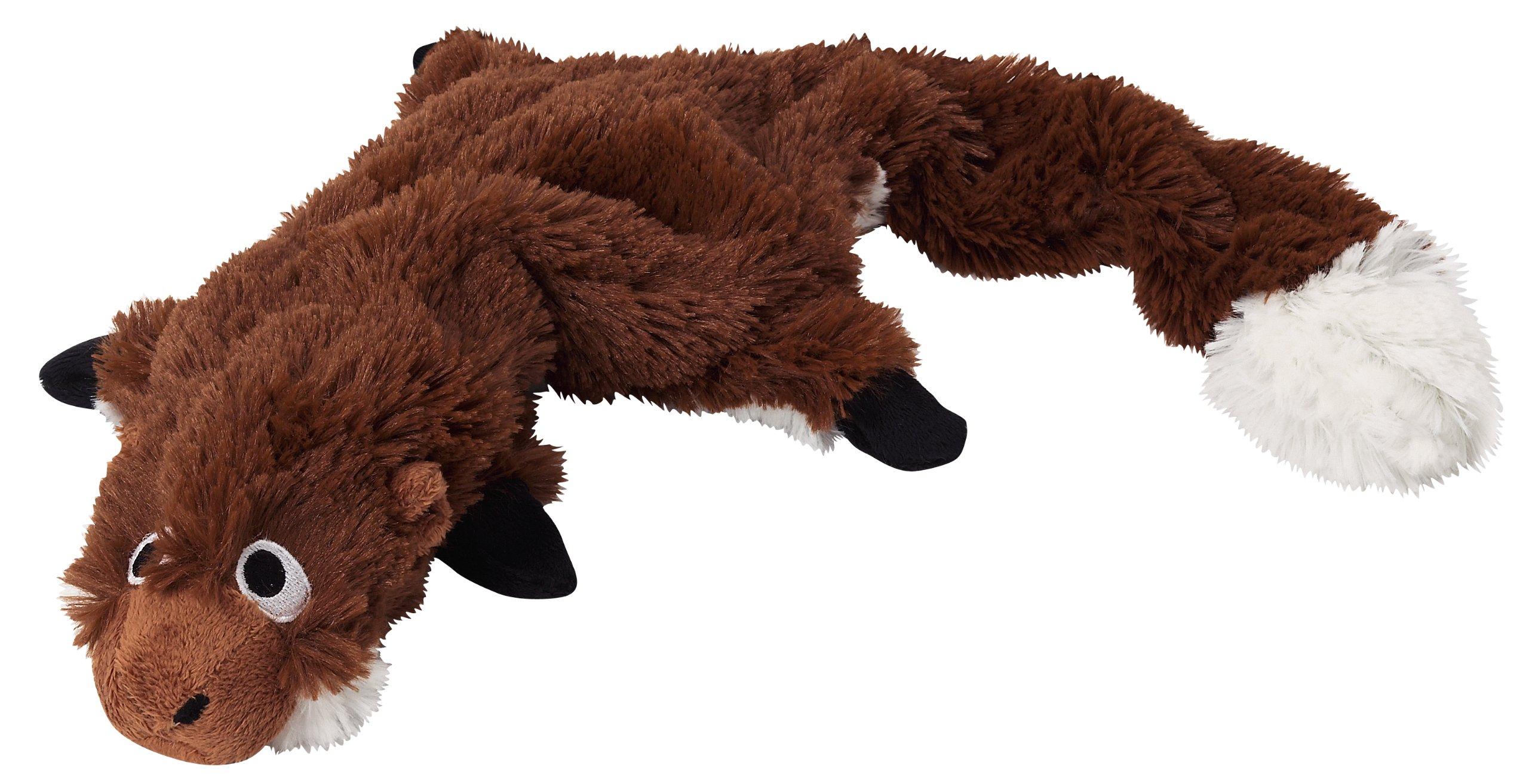 Doggles Plush Groundhog, Skinny or Stuff with Bottle, Dog Toy
