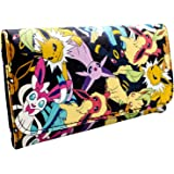 Nintendo Pokemon eevee Evolutions Noir Portefeuille