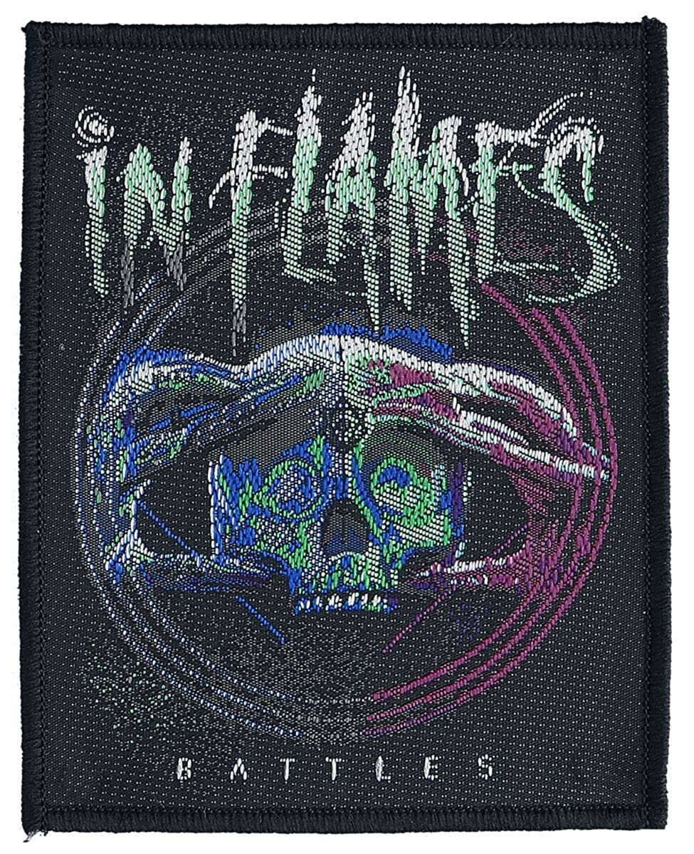 In Flames Battles Patch Mehrfarbig
