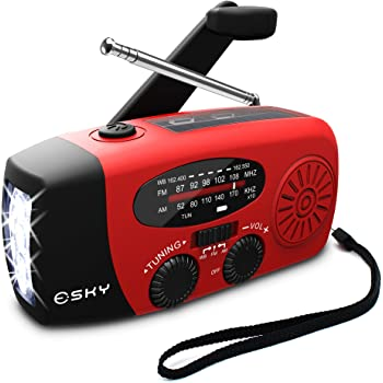Amazon Com Epica Digital Emergency Solar Hand Crank Am Fm