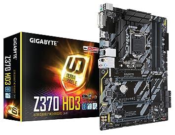 GIGABYTE Z370 HD3 (Intel LGA1151/ Z370/ ATX/ M 2/ Intel LAN/ ALC892/ HDMI/  Motherboard)