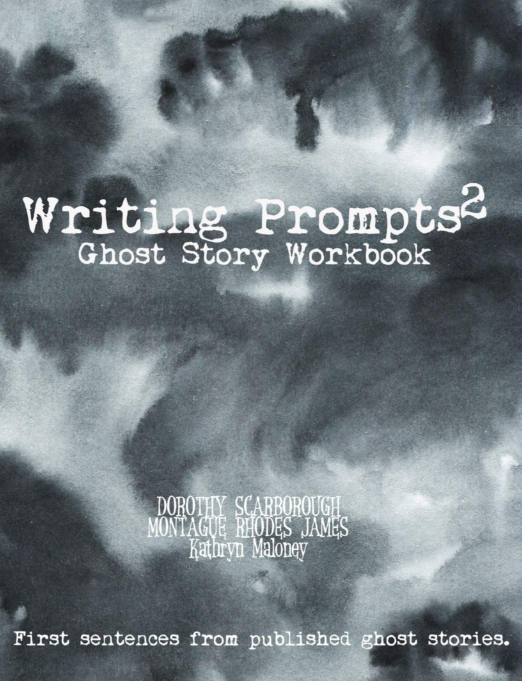 Writing Prompts Ghost Story Workbook: Your ghost book