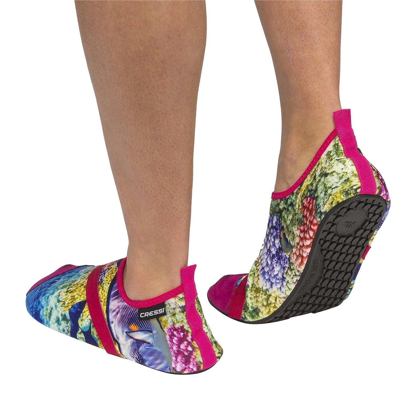 Cressi Aqua Socks Chaussures de Plage /& Piscine Mixte