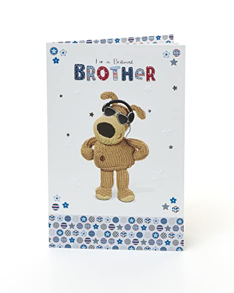 Amazon.com: Boofle brillante lámina de Brother Tarjeta de ...
