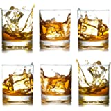 Whiskey Glasses-Premium 12 OZ Scotch Glasses Set of 6 /Old Fashioned Whiskey Glasses/Perfect Gift for Scotch Lovers…