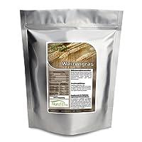Nurafit reines Weizengras-Pulver | Weizengras aus jungen Blättern | zertifizierte Spitzenqualität |100% vegan| 100% glutenfrei | Weizenpulver ohne Zusatzstoffe | Entschlackend, Entgiftend, Belebend | 500g / 0,5kg