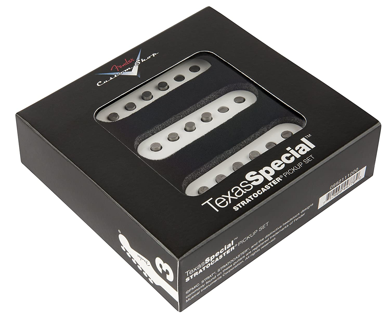 Amazon.com: Fender Custom Shop Strat Texas Special Pickup Set: Musical  Instruments