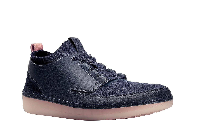 Clarks Nature IV, Zapatillas para Hombre 44 EU Navy Combi (26125773)