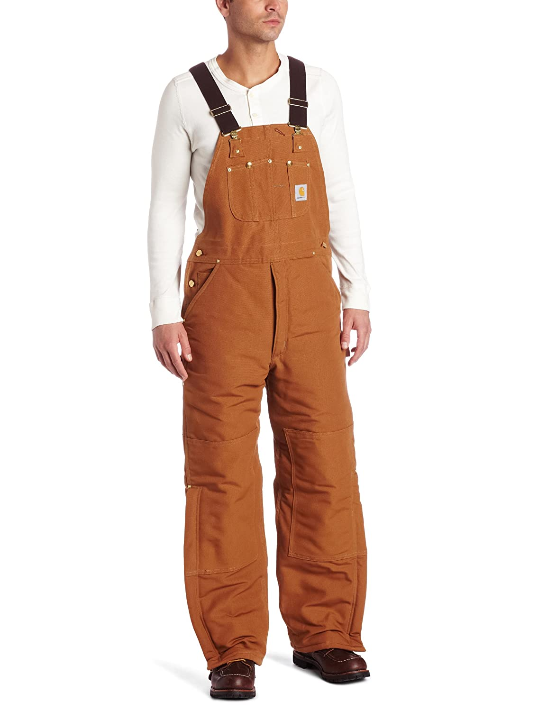 Carhartt Mens Arctic Quilt Lined Duck Bib Overalls R03 Carhartt Sportswear - Mens