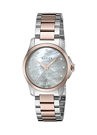 5304341cae9 Image Unavailable. Image not available for. Color  Gucci G-Timeless  Quartz  Stainless Steel Silver-Toned Women s Watch(Model