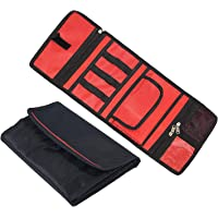 Storite Electronic Travel Gadget Organizer Case, Storage Carrying Bag Pouch for USB Cable SD Card Camera Hard Drive Flash Disk Power Bank