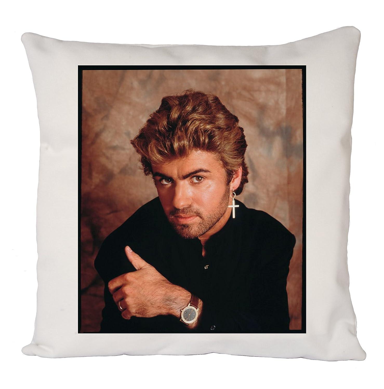 George Michael Face Poster, Fodera, Fodera per cuscino, Arredamento per la casa Uk print king