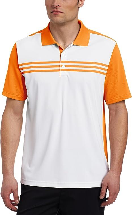 adidas Golf Climacool - Polo para Hombre con 3 Rayas, Primavera ...