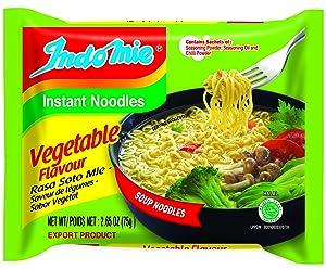 Indomie Instant Noodle Soup Vegetable Flavour (Pack of 30)