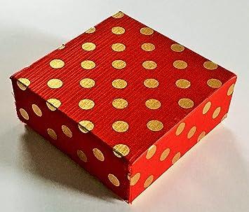 Amazon.com: Juego de 25 cajas de regalo pequeñas de 4.0 x ...