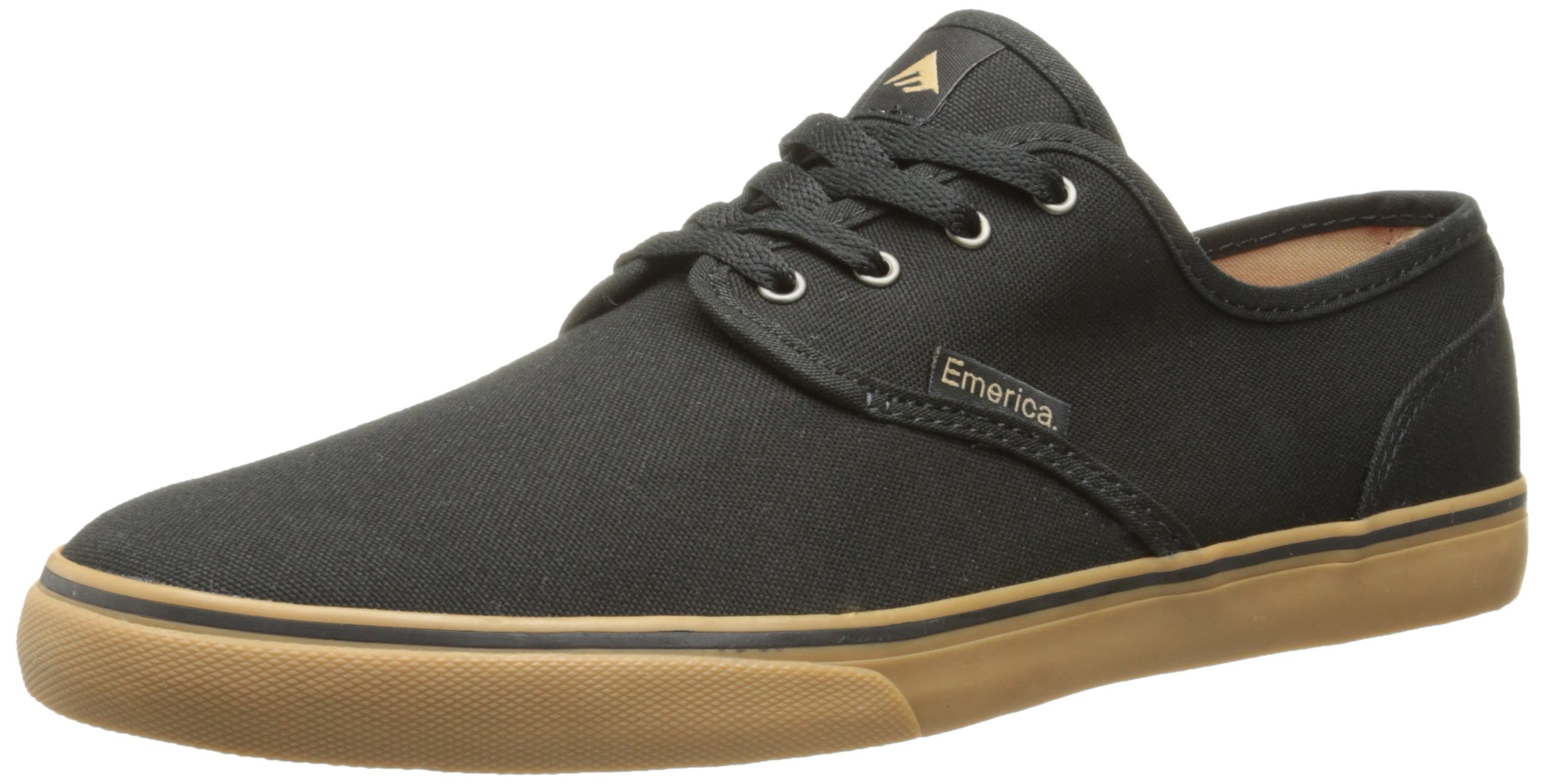 Emerica Men's Wino Cruiser Skateboard Shoe, Black/Gum, 10.5 M US by Emerica