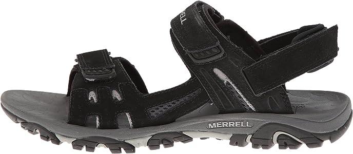 2017 Shoes Men's Merrell Moab Drift Strap Black Sandals