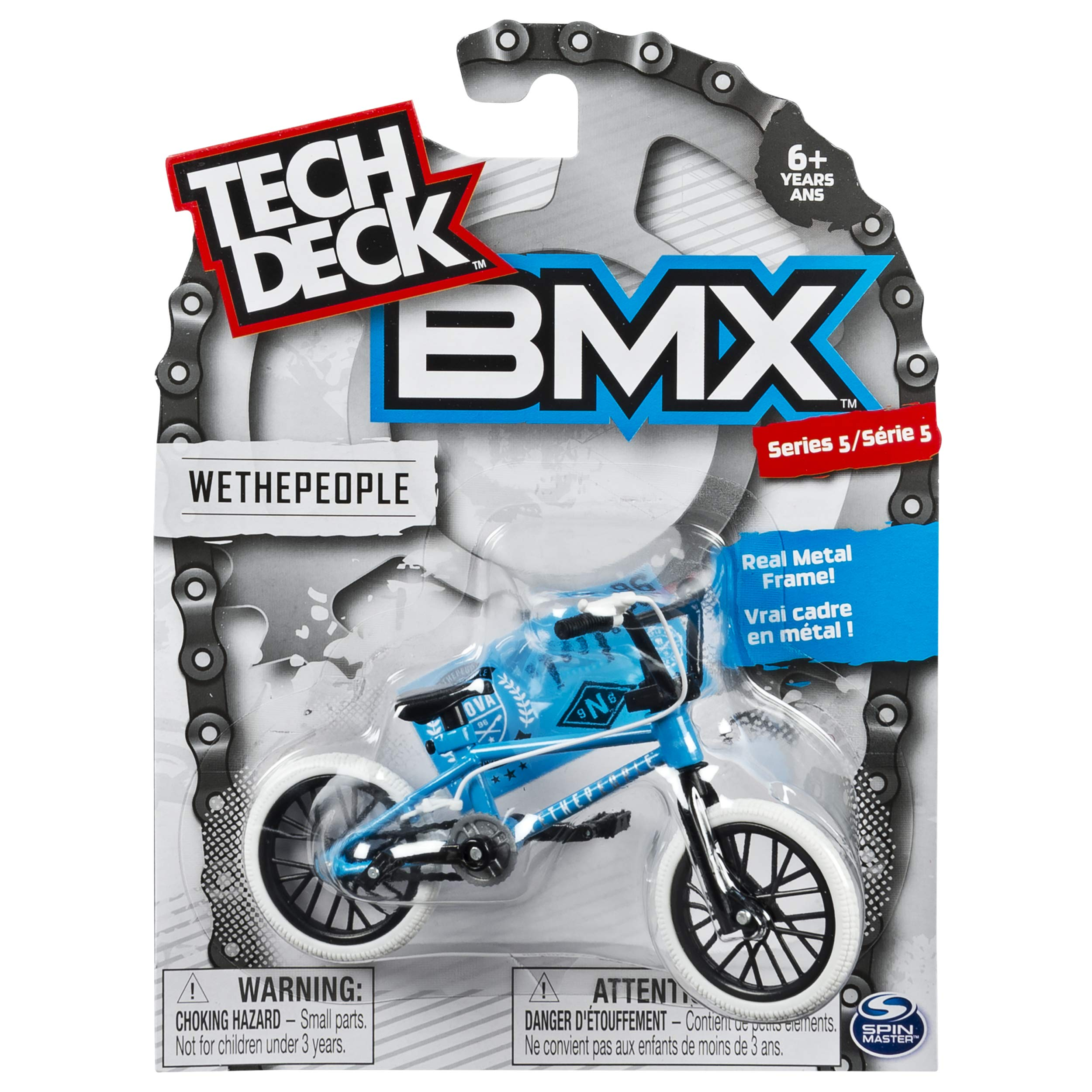 TECH DECK - BMX Finger Bike - WeThePeople - White/Blue - Series 5 by TECH DECK