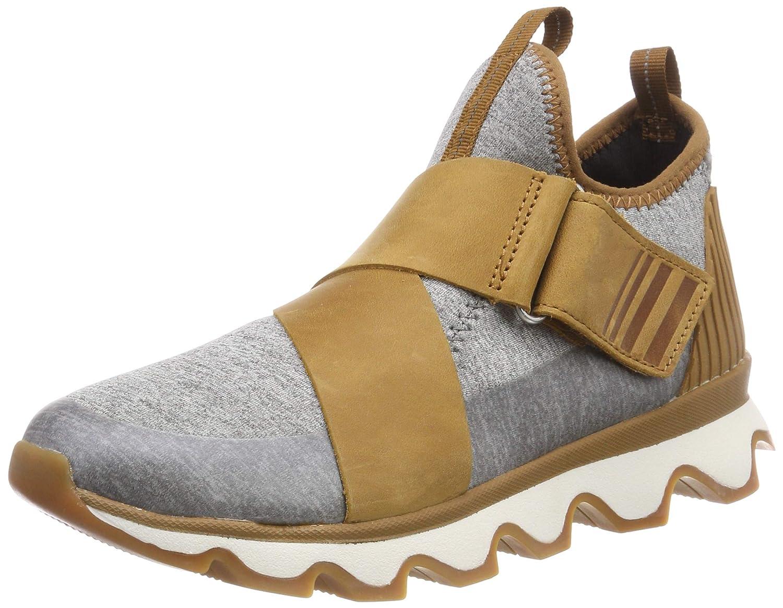 Sorel Damen Braun/Grau Kinetic Sneak Sneaker Braun/Grau Damen (Camel Braun/Sea Salt) e955f5