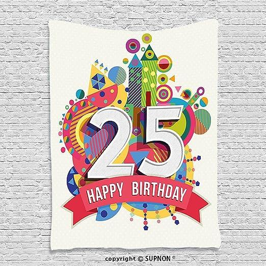 supnon Custom tapiz 30th cumpleaños Decoración Tapiz 30 años ...