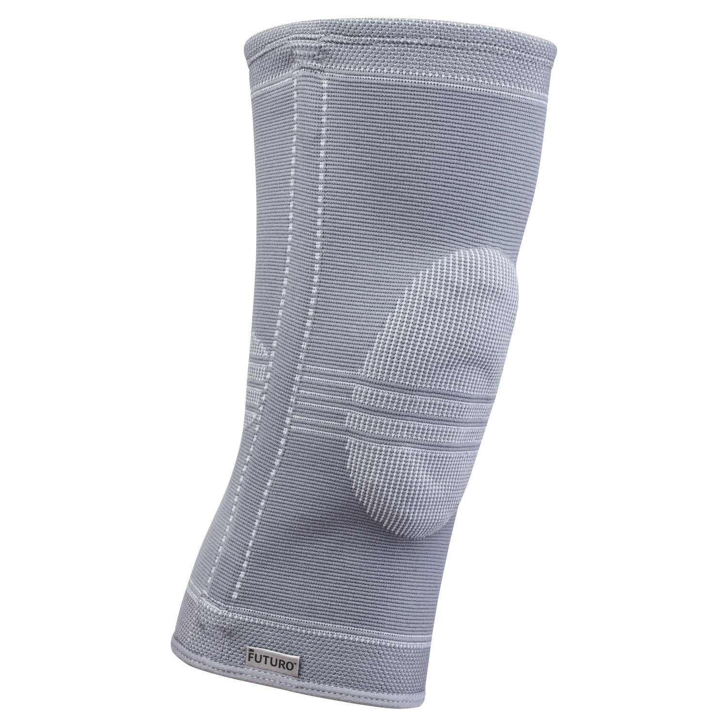 Futuro Active Knit Knee Stabilizer, Provides Support, Moderate Stabilizing Support, Medium, Gray by Futuro (Image #3)