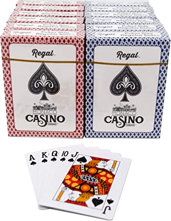 play cards with the casino guests