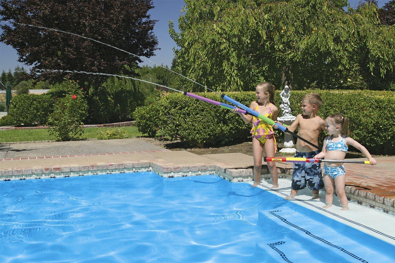 Kids Summer Fun Backyard Fun Play Center Summer Outdoor Pool Lake Beach Fun Water Shooters Blaster 12in Bundle of 4 Toy