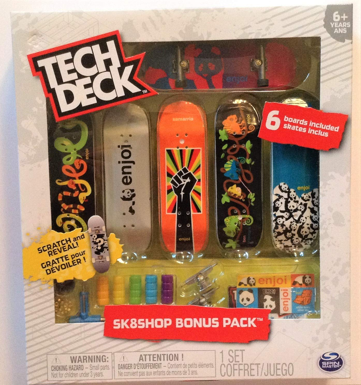 Enjoi Sk8shop Bonus Pack with 6 Fingerboards - 20th Anniversary #20107718 by Tech Deck Enjoi