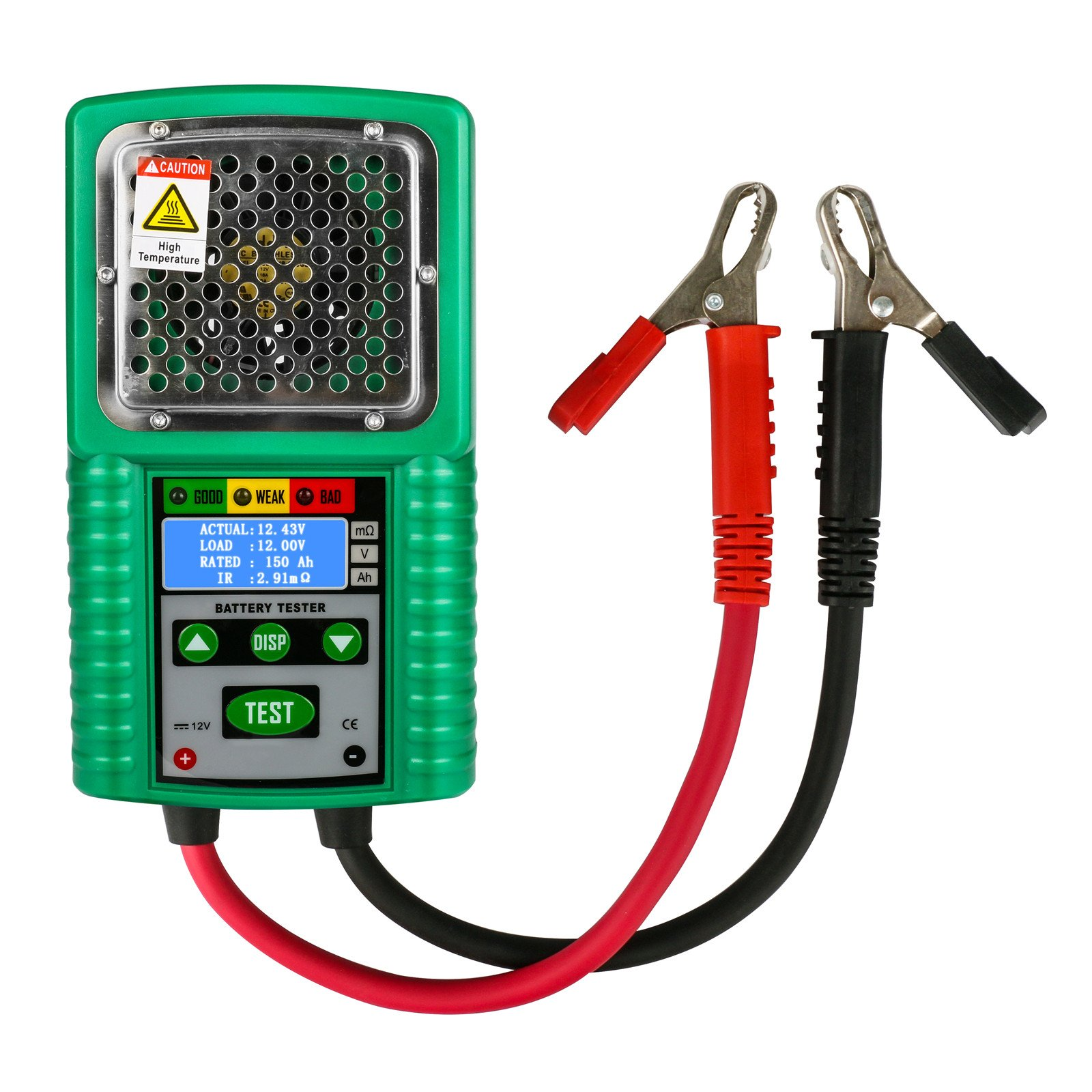 Automotive Battery Tester 6V / 12V Traction,Power Starting Battery Tester, Charge System Test 3 in 1 Digital Battery Analyzer Automotive Battery Load Tester for UPS,Solar Energy,Marine Battery
