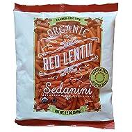 Trader Joes Organic Red Lentil Sedanini, 12 ounces