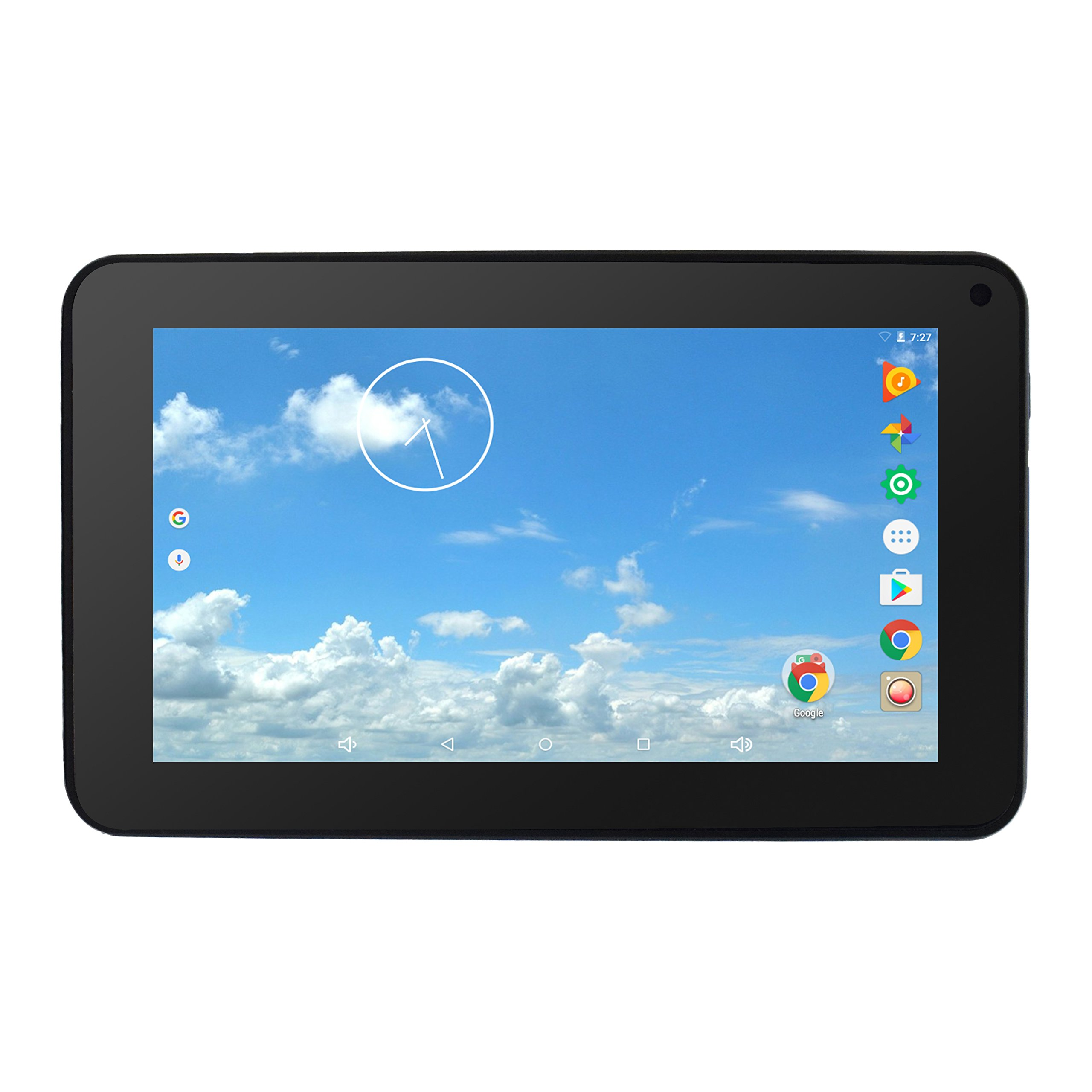 iVIEW-769TPCII 7'' Android Tablet, 1024 X 600 IPS Display, Cortex A53 Quod Core CPU 1.2GHz, 1GB/16GB, Dual Camera, WiFi 802.11 b/g/n, Bluetooth 4.0