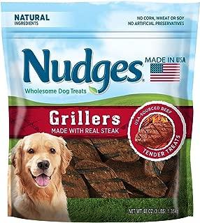 product image for Nudges Wholesome Dog Treats, Steak Grillers (48 oz.) BIG BAG