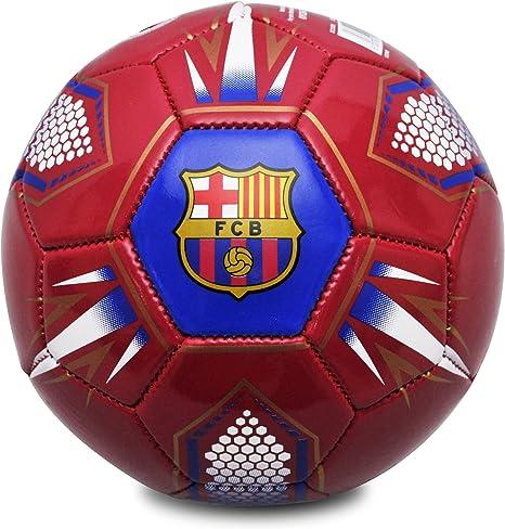 FCB Barcelona FC Hex – Balón de fútbol, Color Rojo/Azul Marino ...