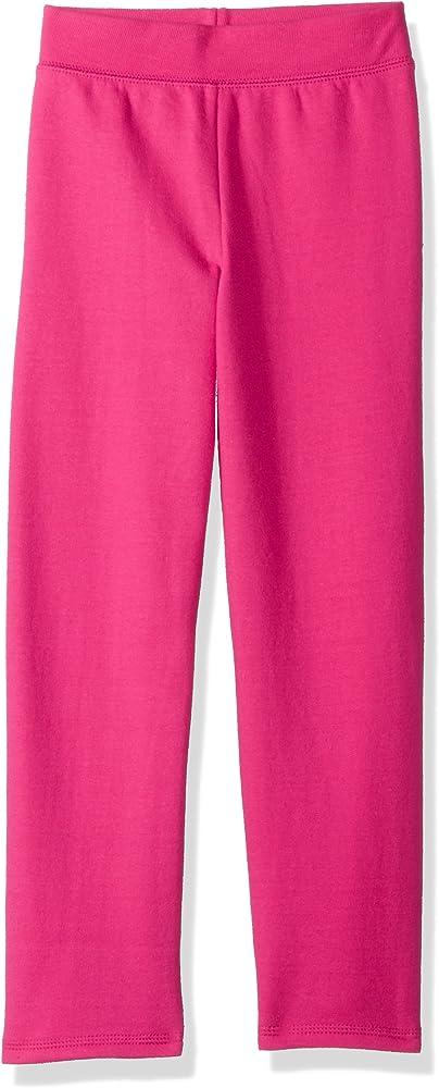0f98593f6728a6 Hanes Girls' Big ComfortSoft EcoSmart Open Bottom Fleece Sweatpant ,  Amaranth, ...