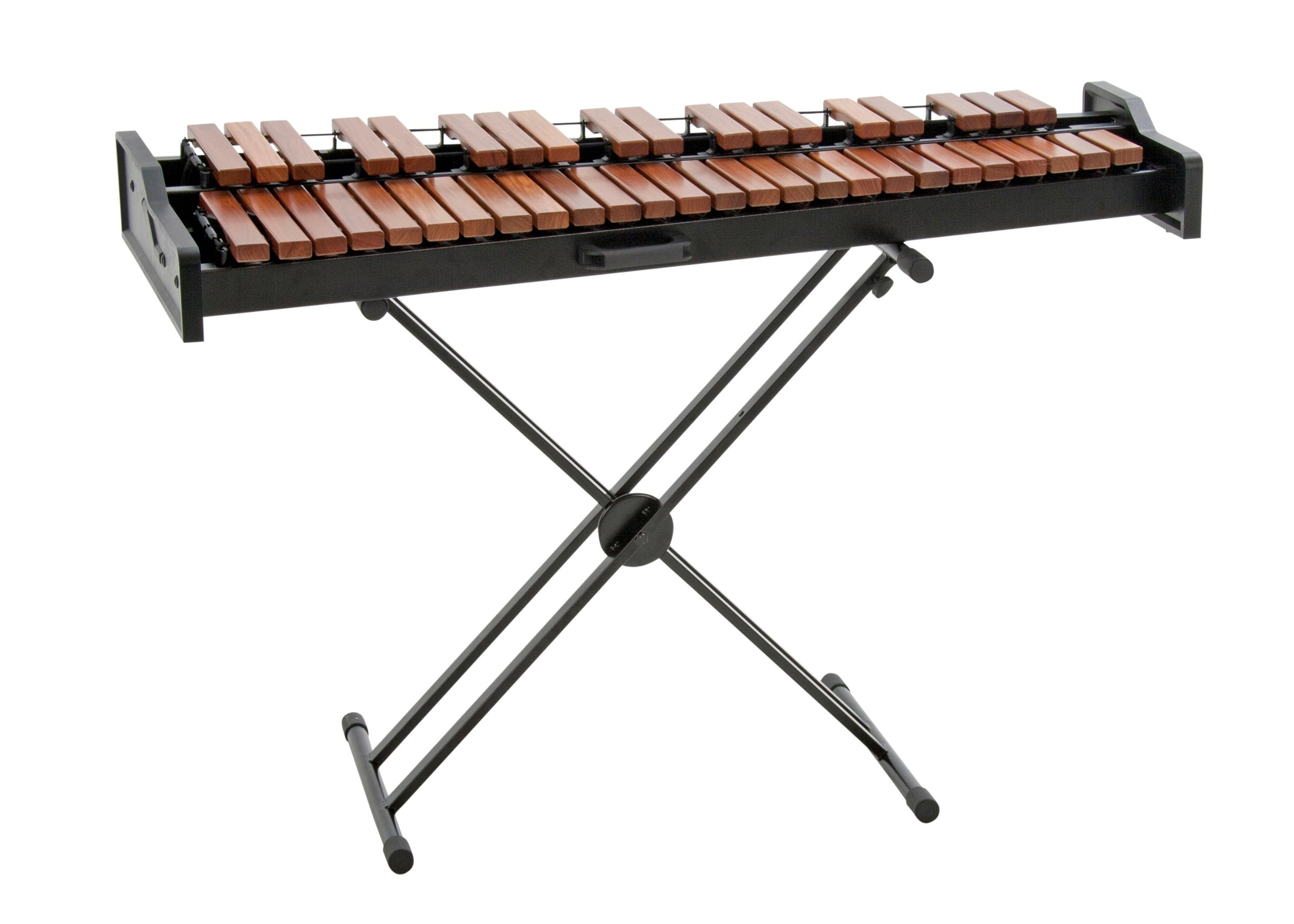Adams Academy AXLD35 3.0 Oct. Light Rosewood Xylophone with X-Style Height Adjustable Stand