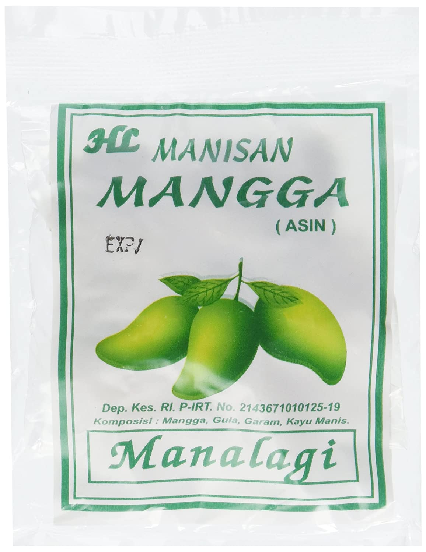 Manalagi Salty Dried Mango 44 Ounce Grocery Gourmet Manisan Mangga Kering Food